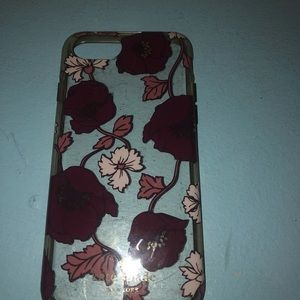 Kate spade floral iPhone 8 case